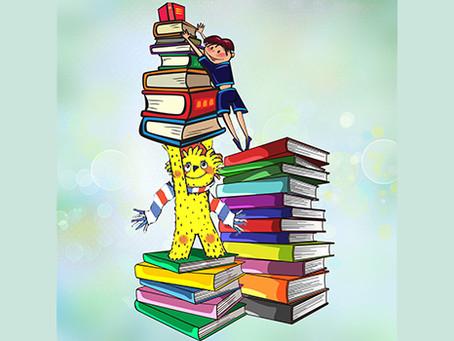 Мурзилка дарит книги!