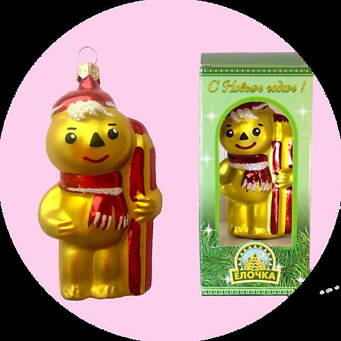 Стеклянная игрушка (ёлочная игрушка)