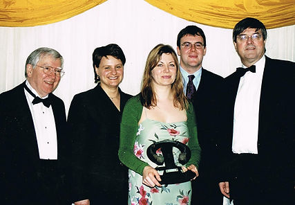 Collecting award for Best TV Arts Docume