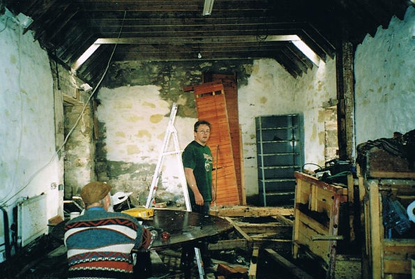 Yes, this was the byre when we started o