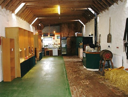 And this was the byre after a lot of har