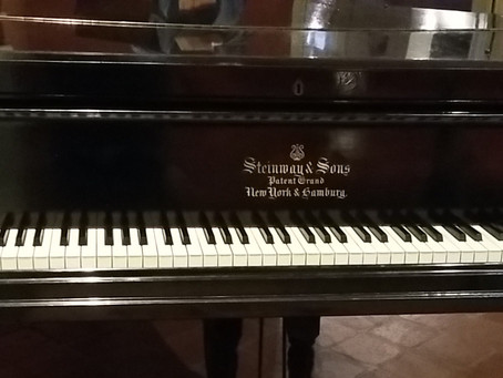 In search of a Steinway.