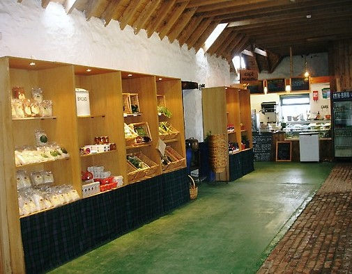 Farm shop shaping up in the Byre. (2).JP