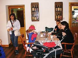 Customers enjoy the new Bogbain cafe!.JP