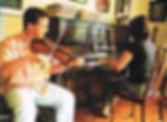 Bruce & Liza rehearse for his album laun