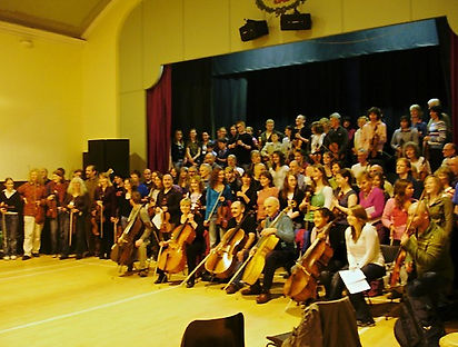 All ready for BnB Friday Night concert!.