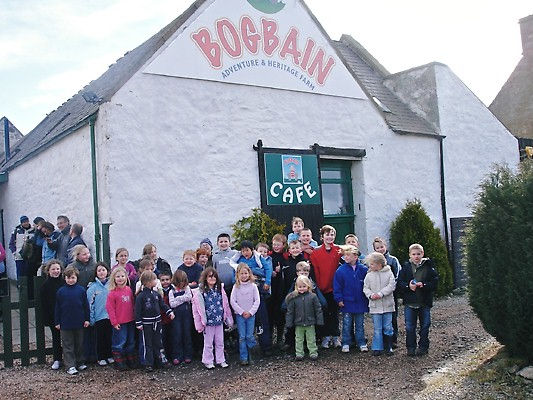 Another happy group ready for fun at Bog