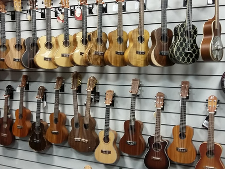 Let's hear it for our music shops!