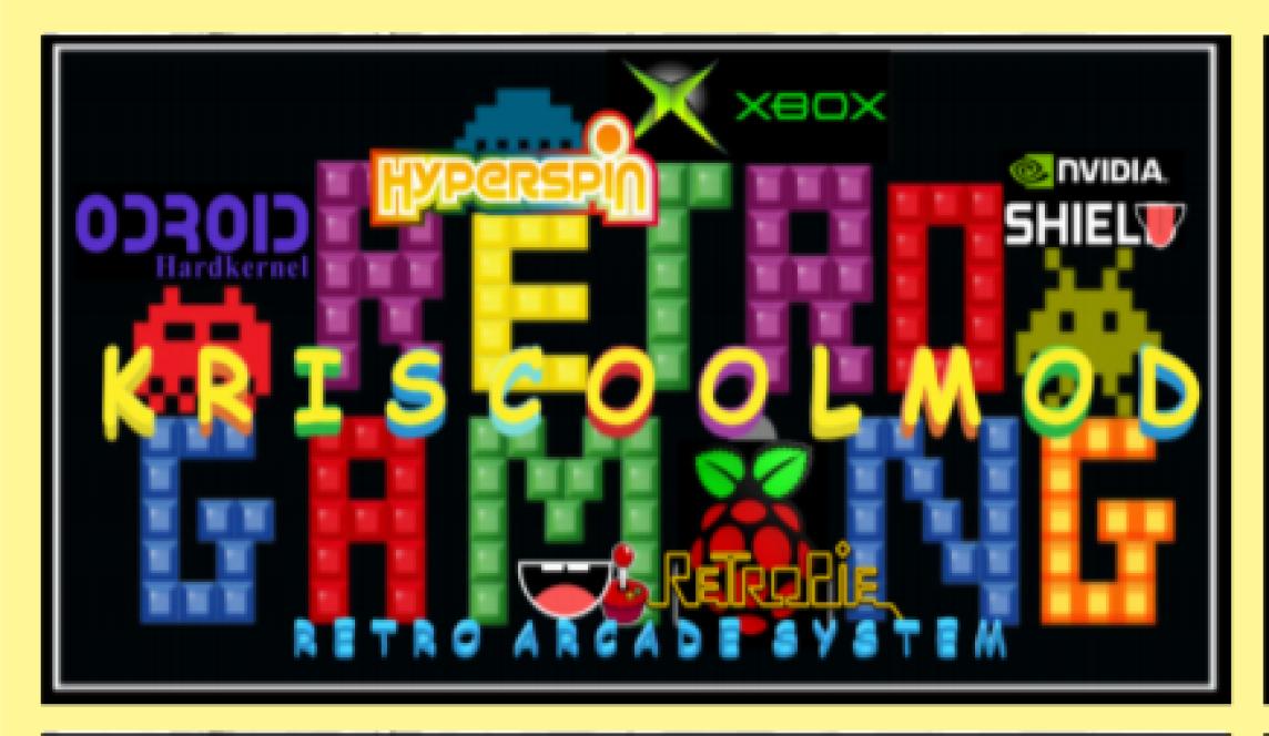 ARCADE RETRO GAMING HYPERSPIN XBOX | Kriscoolmod | Québec
