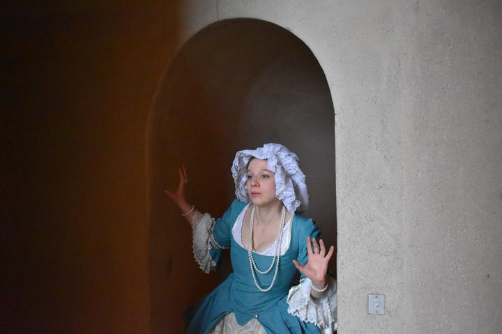 La Comtesse de Marcé - Au château de Rambouillet.