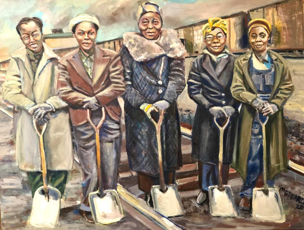 Trainyard women