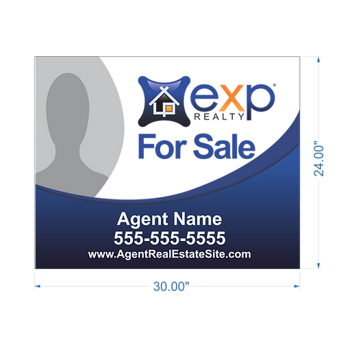 """EXP Realty - Photo - 24"""" x 30"""" Sign"""