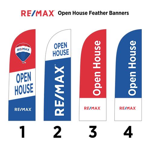 Remax Feather Banner/ Flag