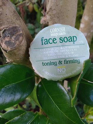 Cornish Soapcakes Face Soap