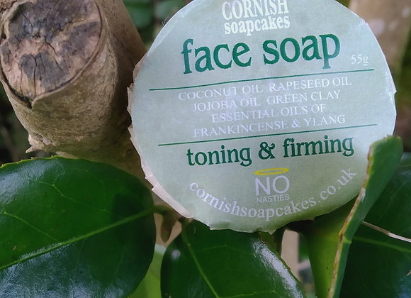 Cornish Soapcakes Face Soap