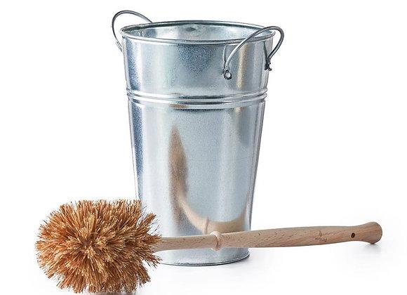 Plastic Free Toilet Brush & Holder