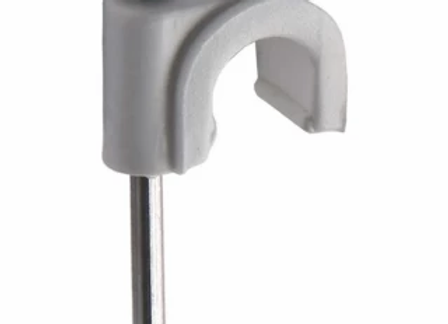 Abraçadeira Coaxial Branca (10mm - 15 Unidades)