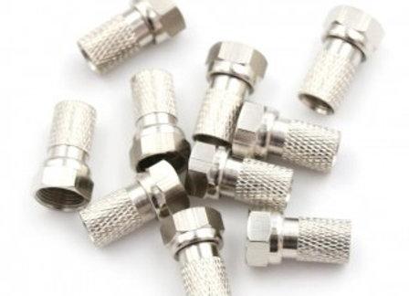 Conector Cristal para cabo coaxial