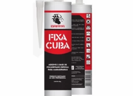 Fixa Cuba - Adesivo para Marmorarias