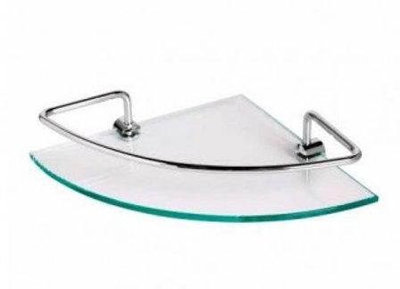 Porta Shampoo Canto de Vidro