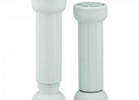 Pe Plástico com Regulagem (Branco - 130mm - 1 Unidade)