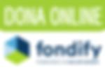 Dona online en Fondify