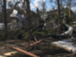 PCRM Allen backyard Hurricane Michael 20