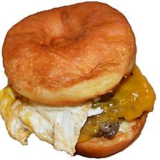 Donut Egg Sandwich