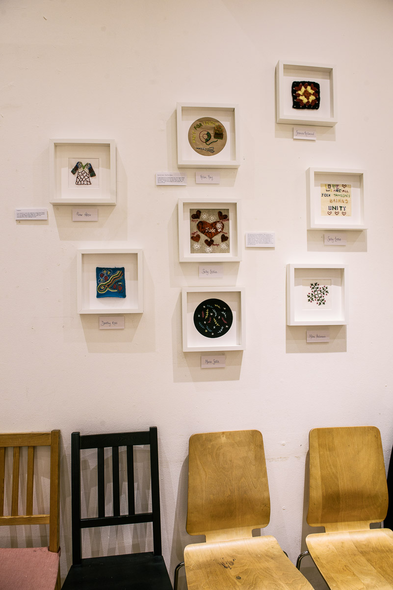 hand-me-down exhibition January 2018