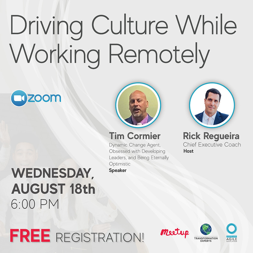 Driving Culture While Working Remotely
