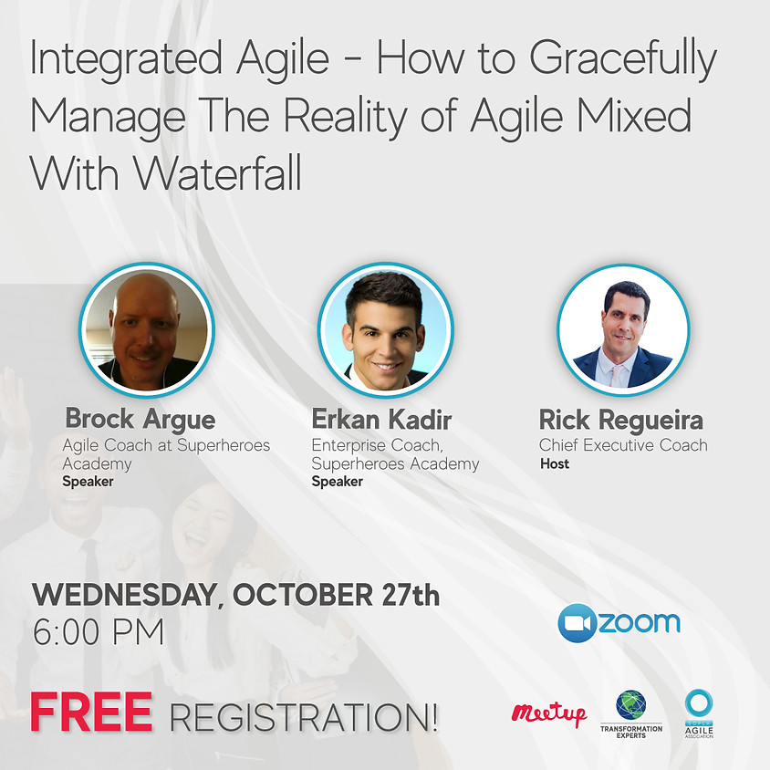 Integrated Agile - How to gracefully manage the reality of agile mixed with waterfall