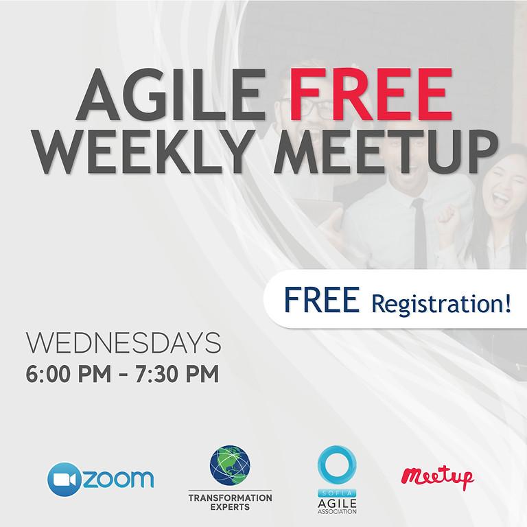 Agile Free Weekly Meetup