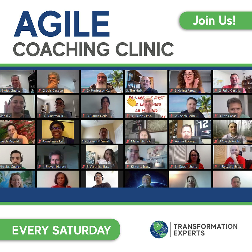 Agile Coaching Clinic | August 21st