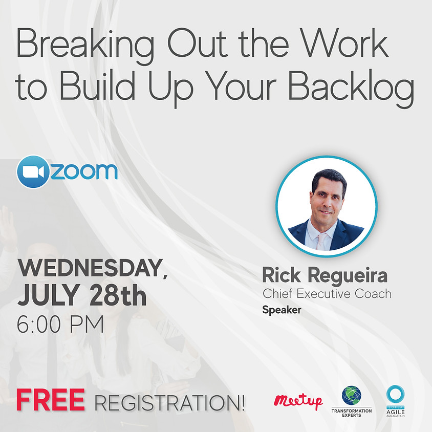 Breaking Out the Work to Build Up Your Backlog