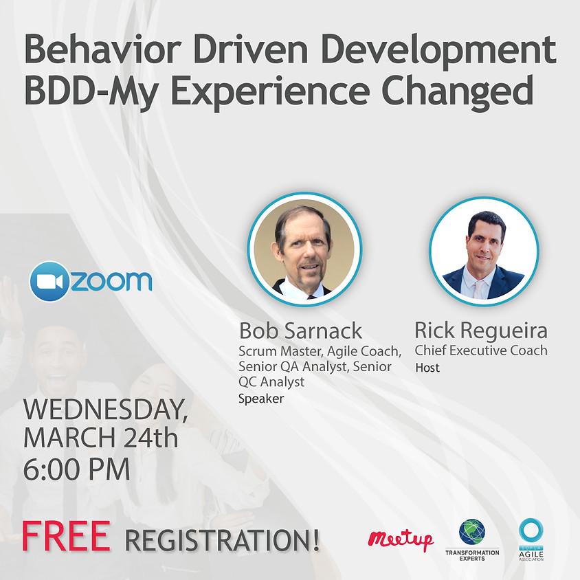 Behavior Driven Development BDD - My Experience Changed