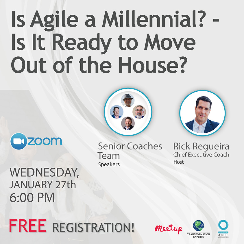 Is Agile a Millennial? Is is Ready to Move Out of The House?