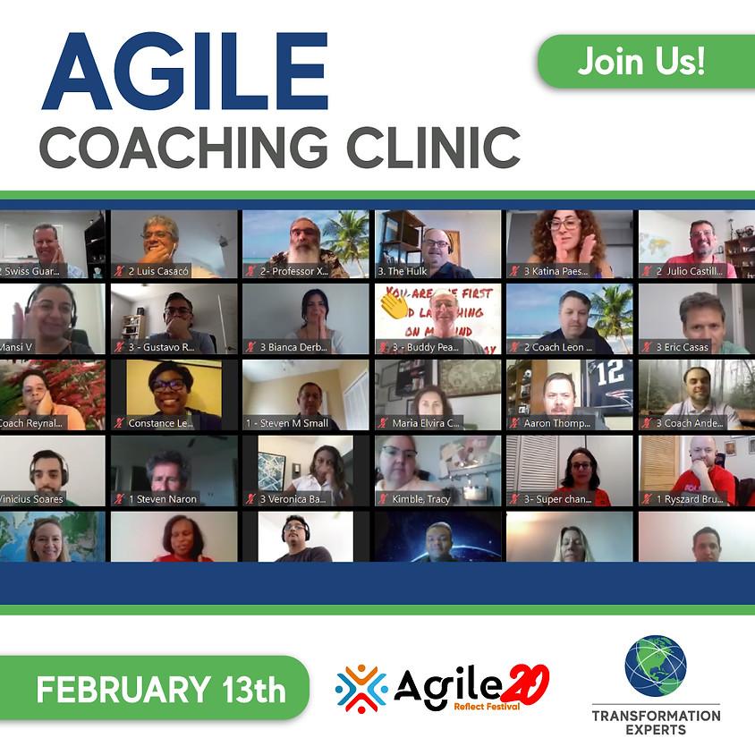 Agile Coaching Clinic   February 13th
