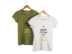 Keep Calm and Stay Agile T-Shirt