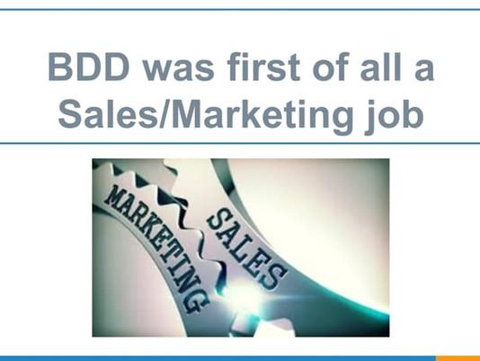 Behavior Driven Development BDD-My Experience changed