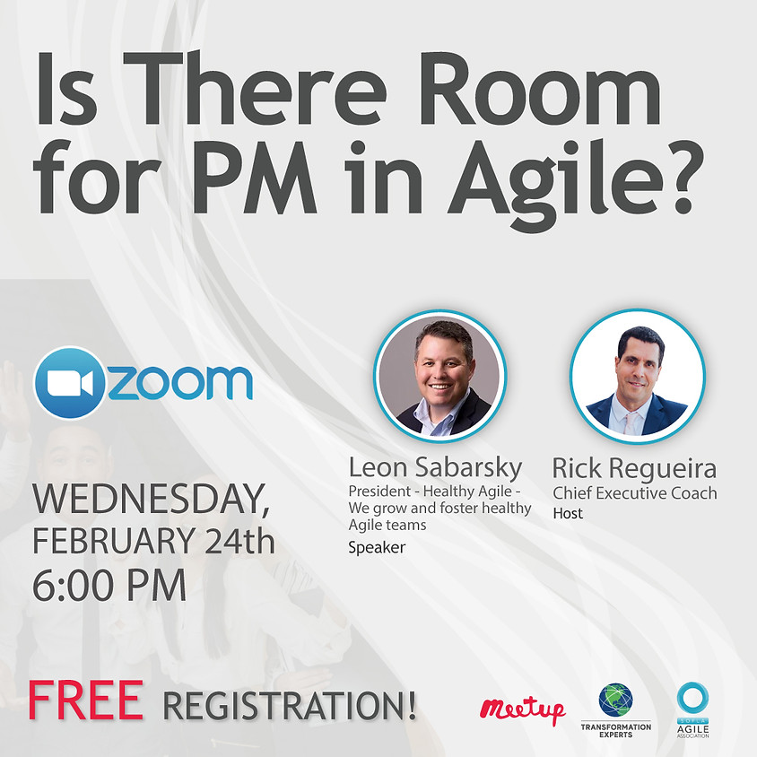 Is There Room for PM in Agile?   Feb 24th