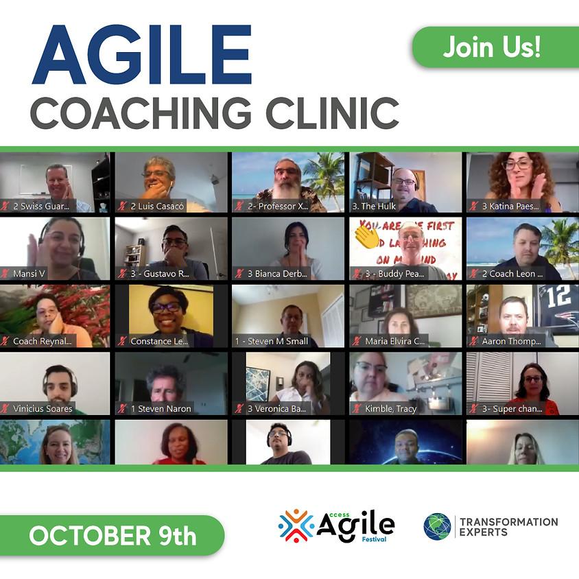 Agile Coaching Clinic | October 9