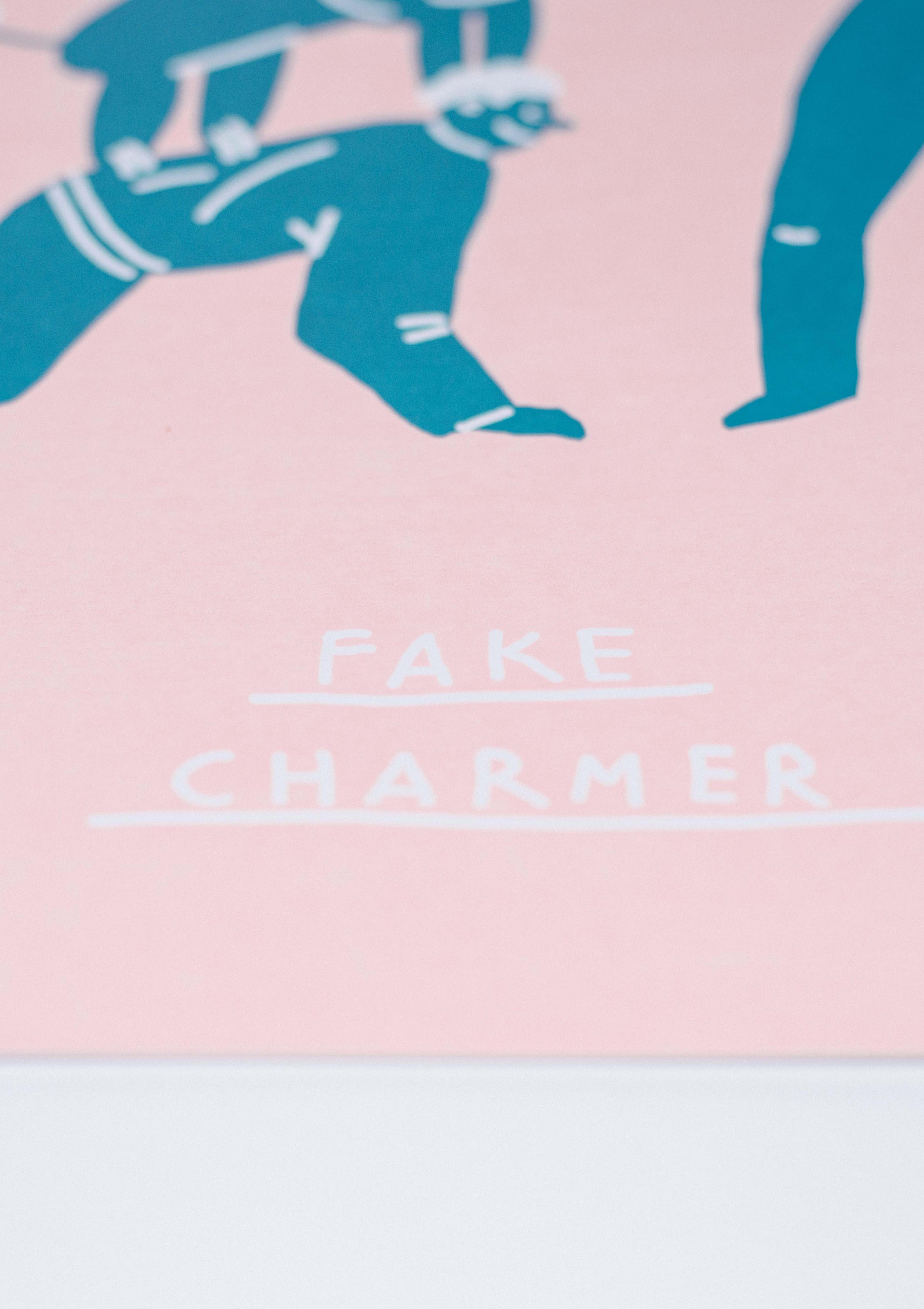 Fake charmer by Nastya Pozhidaeva