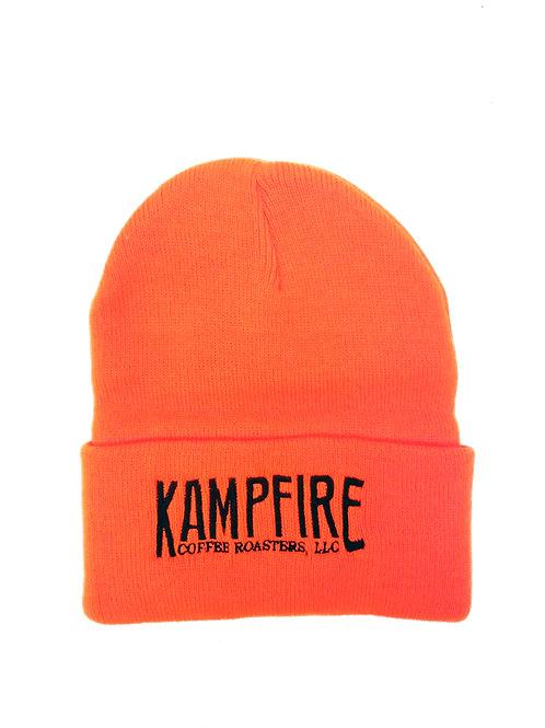 KAMPFIRE Beanie with cuff - Hunter Orange