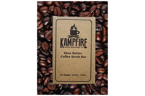 KAMPFIRE Shea Butter Coffee Scrub bar