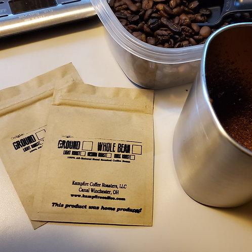 KAMPFIRE Coffee Sample