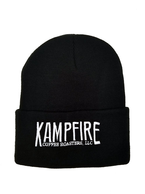 KAMPFIRE Beanie with cuff - Black