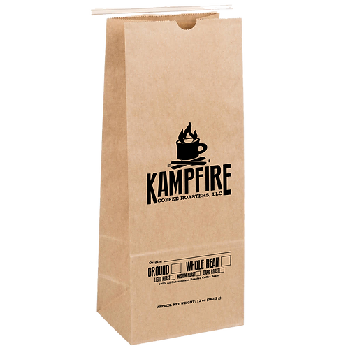 KAMPFIRE Colombian Peaberry - Dark Roast