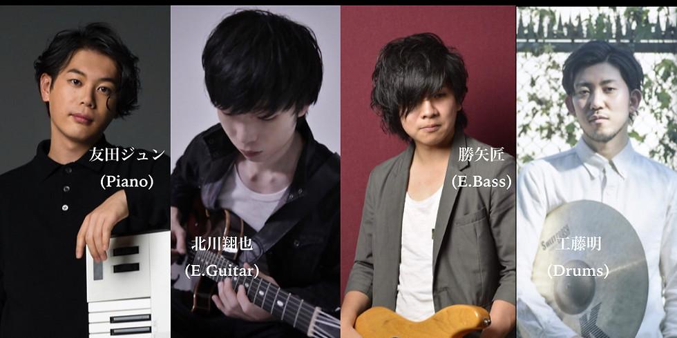 友田ジュンNew Quartet Online Live