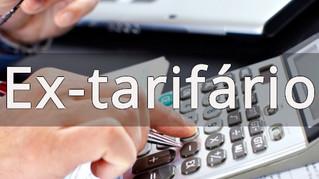 Ex Tarifário com limite de valor em reais - breve análise