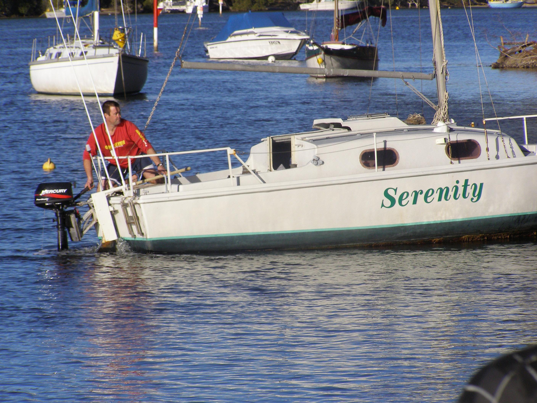 My first true Yacht